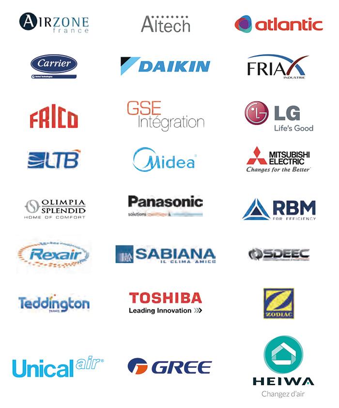 Partenaire des plus grandes marques